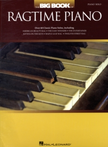 The Big Book of Ragtime Piano, Paperback Book