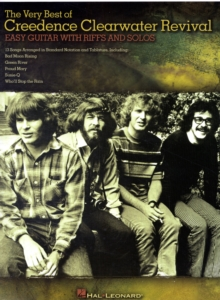 The Very Best Of Creedence Clearwater Revival - Easy Guitar With Riffs And Solos, Paperback / softback Book