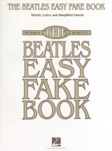 BEATLES EASY FAKE BOOK, Paperback Book