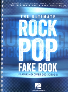 The Ultimate Rock Pop Fake Book, Paperback Book