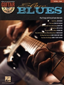 Guitar Play-Along Volume 94 : Slow Blues (Book/CD), Paperback Book