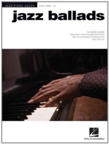 Jazz Piano Solos Volume 10 : Jazz Ballads, Paperback / softback Book
