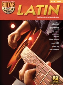 Guitar Play-Along Volume 105 : Latin (Book/CD), Paperback Book