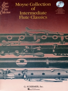 Moyse Collection Of Intermediate Flute Classics (Book/Online Audio), Paperback / softback Book