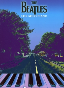 The Beatles For Solo Piano, Paperback / softback Book