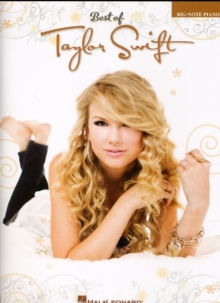 Best Of Taylor Swift - Big Note Piano, Paperback / softback Book