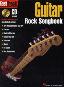 Fast Track : Guitar Rock Songbook, Paperback Book