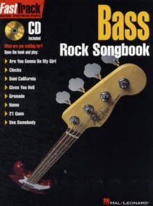 FastTrack Bass Rock Songbook, Paperback / softback Book