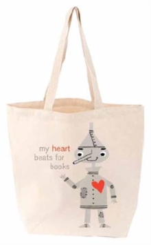 My Heart Beats for Books Tote Bag, Other printed item Book