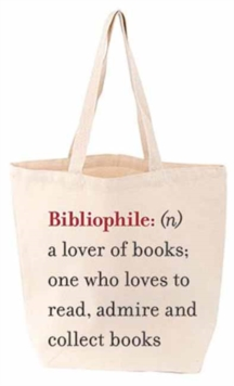 Lovelit Bibliophile Tote, Other printed item Book