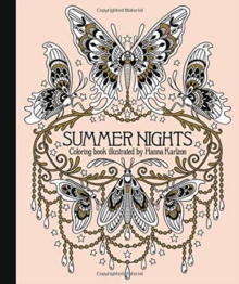 Summer Nights Coloring Book, Hardback Book