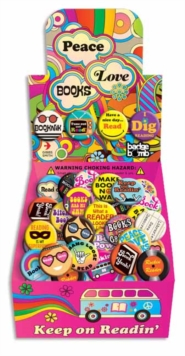 Peace, Love and Books Button Box, Other printed item Book