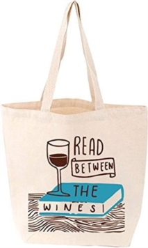Read Between the Wines Tote,  Book