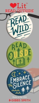 Read Outside 3 Badge Set : LoveLit Button Assortment, Other printed item Book