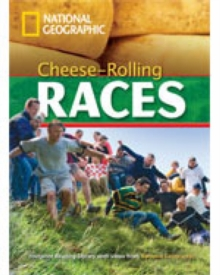 Cheese-Rolling Races + Book with Multi-ROM : Footprint Reading Library 1000, Mixed media product Book