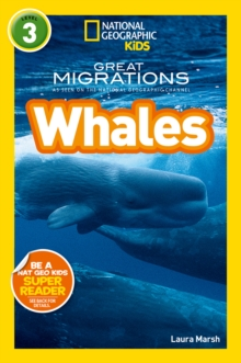 National Geographic Kids Readers: Whales, Paperback Book