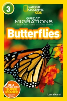 National Geographic Kids Readers: Butterflies, Paperback Book
