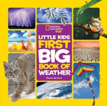 Little Kids First Big Book of Weather, Hardback Book