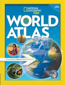 National Geographic Kids World Atlas, 5th Edition, Hardback Book