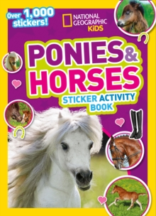 Ponies and Horses Sticker Activity Book : Over 1,000 Stickers!, Paperback / softback Book
