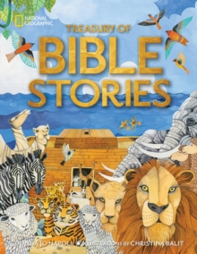 Treasury of Bible Stories : A Mosaic of Prophets, Kings, Families, and Foes, Hardback Book