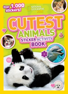 Cutest Animals Sticker Activity Book : Over 1,000 Stickers!, Paperback / softback Book