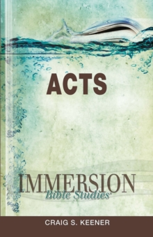 Immersion Bible Studies: Acts, EPUB eBook