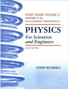 Study Guide for Physics for Scientists and Engineers Volume 2 (21-33), Paperback / softback Book