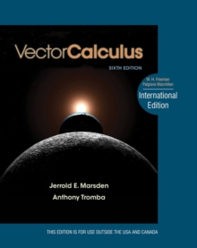 Vector Calculus, Hardback Book