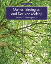 Games, Strategies, and Decision Making, Hardback Book