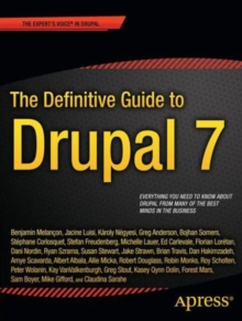 The Definitive Guide to Drupal 7, Paperback Book