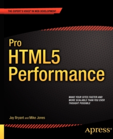 Pro HTML5 Performance, Paperback Book