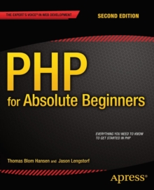 PHP for Absolute Beginners, Paperback Book
