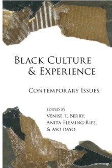 Black Culture and Experience : Contemporary Issues, Paperback Book