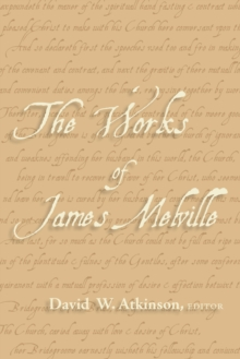 The Works of James Melville, EPUB eBook