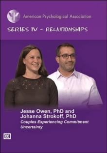 Couples Experiencing Commitment Uncertainty, DVD video Book