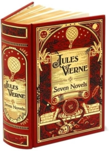 Jules Verne: Seven Novels : (Barnes & Noble Collectible Classics: Omnibus Edition), Leather / fine binding Book