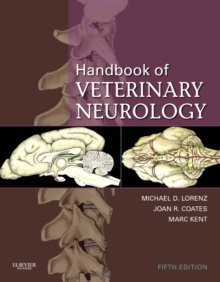 Handbook of Veterinary Neurology, Hardback Book