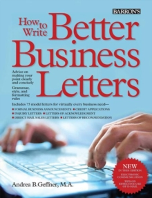 How to Write Better Business Letters, Paperback Book