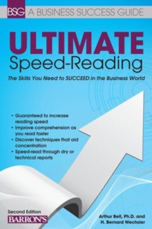 Ultimate Speed Reading, Paperback Book