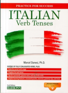 Italian Verb Workbook, Paperback Book
