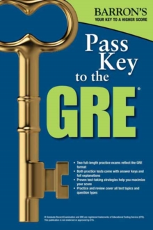 Pass Key to the GRE, 8th Edition, Paperback Book