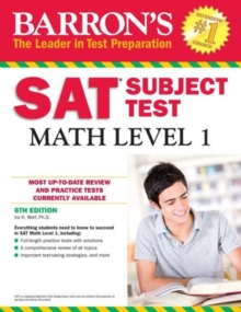 SAT Math Level 1, Paperback Book