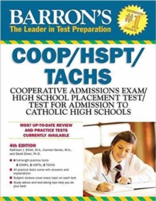 Barron's COOP/HSPT/Tachs, 4th Edition, Paperback Book