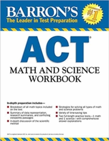 Act Math and Science Workbook, Paperback Book