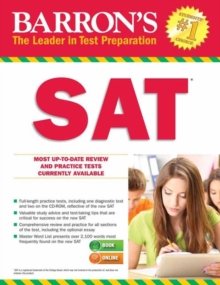 Barron's SAT : 29th Revised edition, Paperback Book