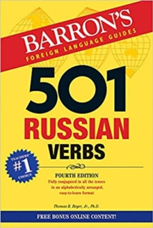 501 Russian Verbs, Paperback / softback Book