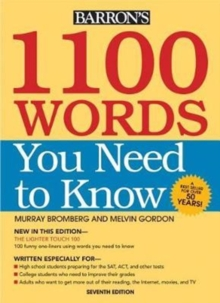 1100 Words You Need to Know, Paperback Book