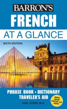 French At a Glance : Foreign Language Phrasebook & Dictionary, Paperback / softback Book