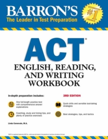 Barron's ACT English, Reading, and Writing Workbook, Paperback / softback Book